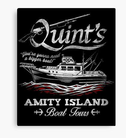 Quint's Boat Tours Canvas Print