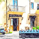 Tortora glimpse with foosball bar and scooter by Giuseppe Cocco