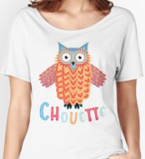 Chouette Owl Women's Relaxed Fit T-Shirt