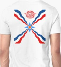 Assyrian flag _ back print T-Shirt