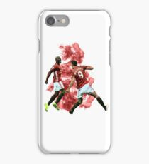 Pogba and Ibrahimovic Art iPhone Case/Skin