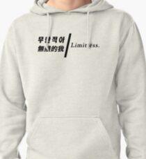 NCT 127 Limitless Korean 무한적아 Chinese 無限的我 Song Lyrics Pullover Hoodie