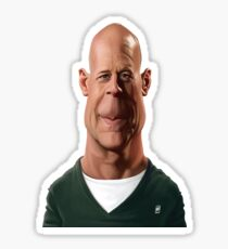 Bruce Willis Sticker