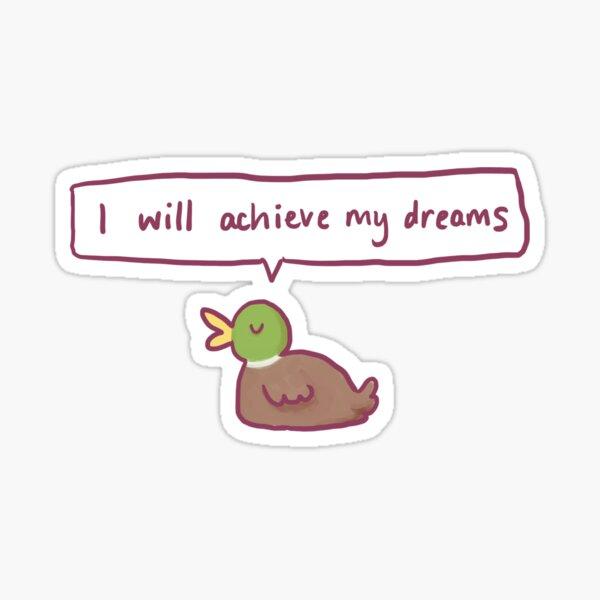 Positive Ente Sticker