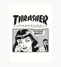 Thrasher Magazine Art Print