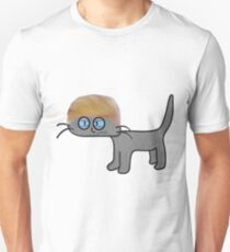 A Mad Cat Is Having Bad Hair Day Unisex T-Shirt