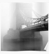 London Bridge in Fog Poster