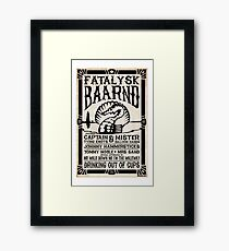 Drinking out of Cups Tribute Framed Print