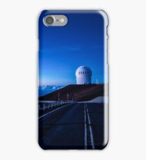 Mauna Kea Telescopes in the Blue Hour iPhone Case/Skin