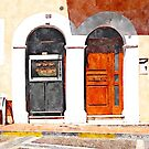 Two doors by Giuseppe Cocco