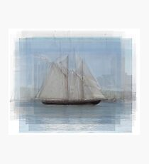 Bluenose Ship Photographic Print