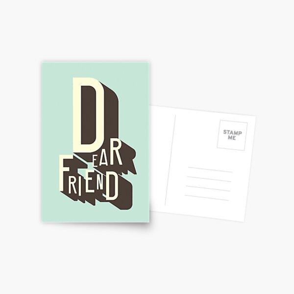 Dear Friend Postcard