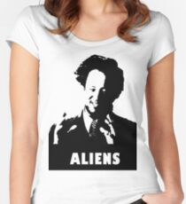 9 GAG - Aliens Women's Fitted Scoop T-Shirt