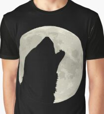 Ferret and the Moon Graphic T-Shirt