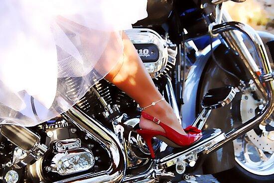 Bride's Ride by Creative Captures