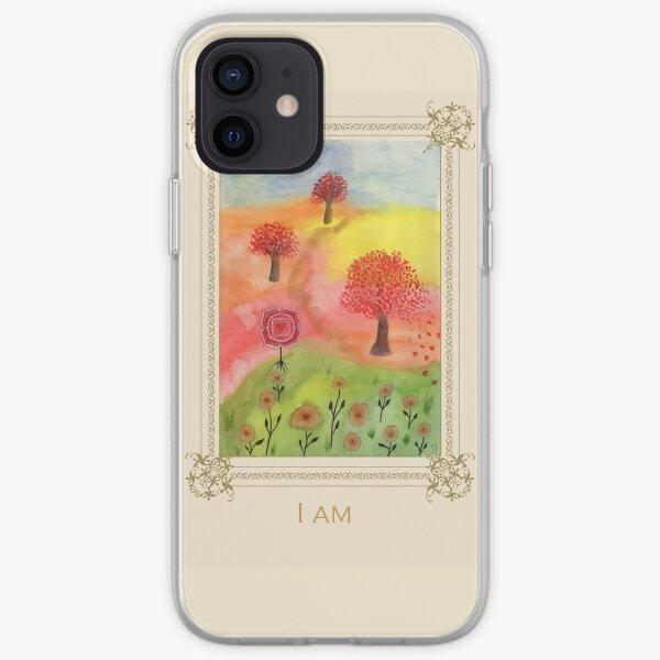 I am - Tree Affirmation Card iPhone Soft Case