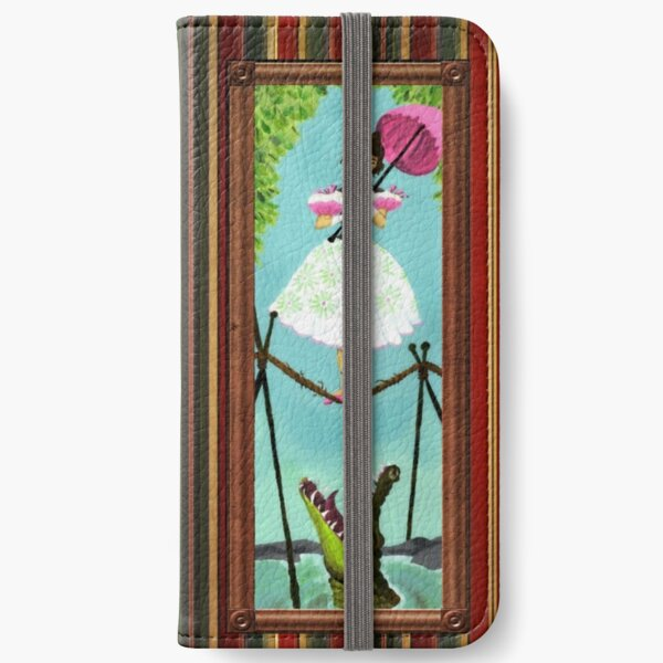Tightrope Girl iPhone Wallet