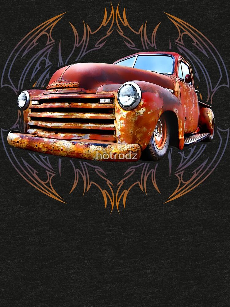Pinstripe Rust Truck by hotrodz