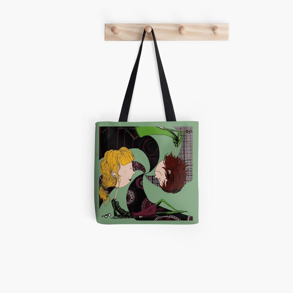 Lux and Panda Tote Bag