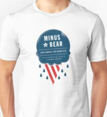 Minus the Bear with Annuals and Helms Alee tour tee T-Shirt