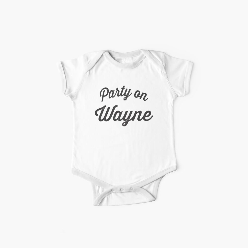 Party On Wayne   Waynes World Best Friends Tees 2/2 Baby One-Piece