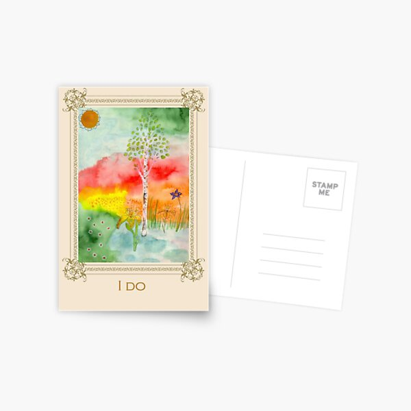 I do - Tree affirmation card Postcard