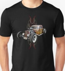 Pinstripe RAT - Full Throttle Unisex T-Shirt