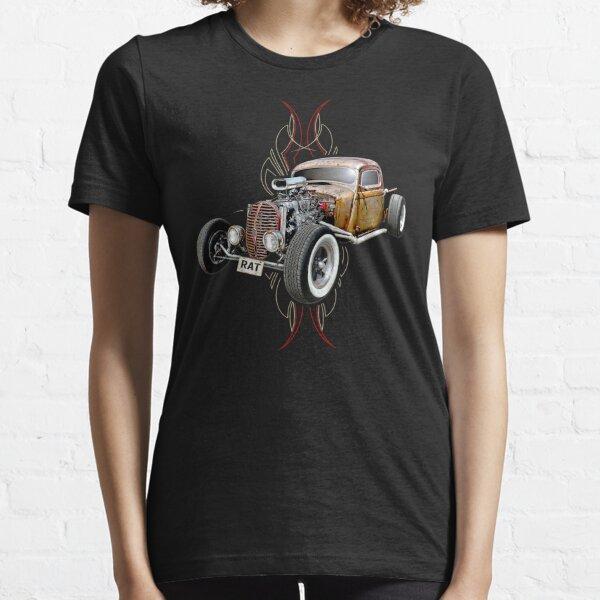 Nadelstreifen RAT - Vollgas Essential T-Shirt