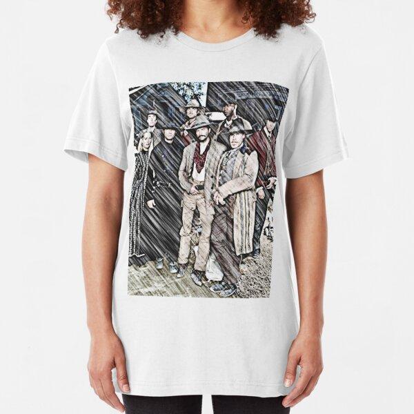 Seven Magnificent Men Group Slim Fit T-Shirt