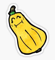 cartoon butternut squash Sticker