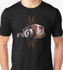 Pinstripe RAT - Rear View Unisex T-Shirt