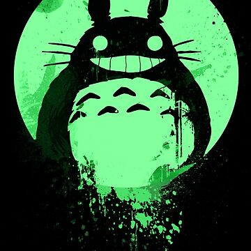 Totoro Ghibli Fanart ZOMBIE - by Mien Wayne by MienWayne
