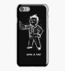 Mad Fallout Boy - Fanart by Mien Wayne iPhone Case/Skin