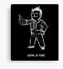 Mad Fallout Boy - Fanart by Mien Wayne Canvas Print