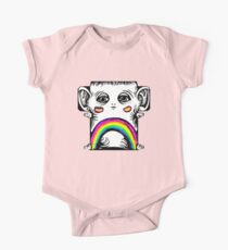 Rainbow Creature One Piece - Short Sleeve