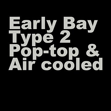 Early Bay Pop Type 2 Pop Top Grey by splashgti
