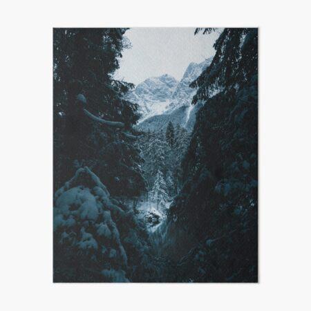 Winter Landscape Art Board Print