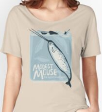 Modest Mouse with The Night Marchers tour tee Women's Relaxed Fit T-Shirt