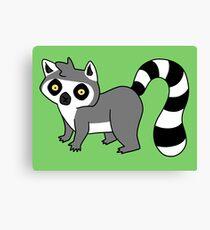 Adorable Lemur Canvas Print