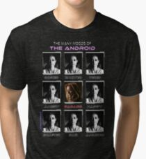 The Many Moods of the Android Tri-blend T-Shirt