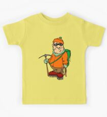 Funny Mountain Ice Climbing Kids Clothes