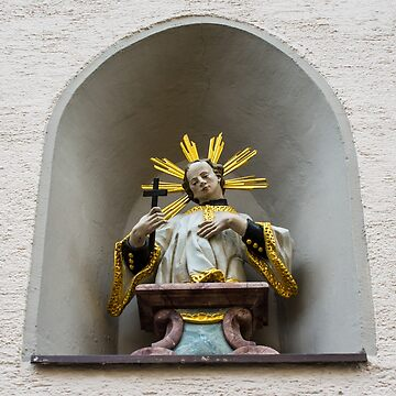 Fussen Old Town Religious Art - Germany by ultimateplaces