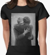 John and Sherlock Womens Fitted T-Shirt