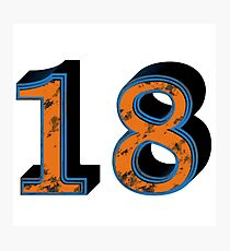 Number 18 Photographic Print