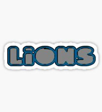 Lions and Tigers and Bears! Sticker
