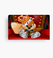 Conkers Bad Fur Day Canvas Print