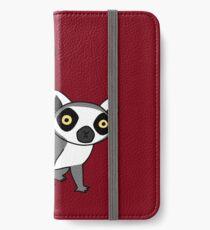 Ring Tailed Lemur iPhone Wallet/Case/Skin