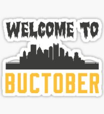 Welcome to Buctober Sticker