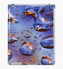liquid metal iPad Case/Skin
