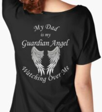 Guardian Angel Dad Women's Relaxed Fit T-Shirt
